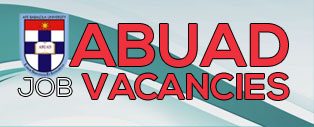 ABUAD job Vacancy