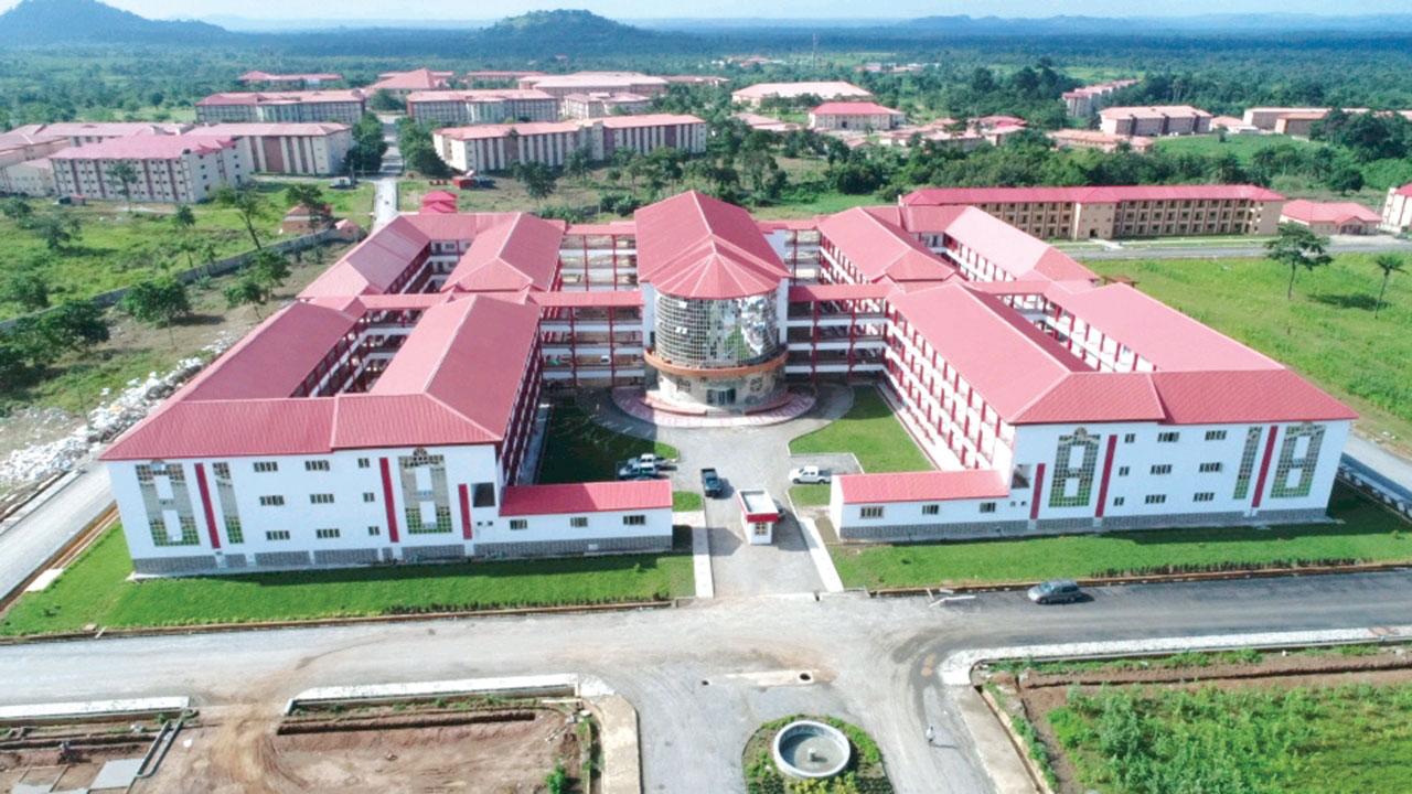 Premises of Afe Babalola University (ABUAD). Photo: Afe Babalola University